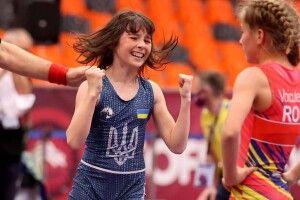 12-річна волинянка здобула третє місце на чемпіонаті Європи з вільної боротьби (Фото)