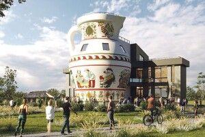 15-метровий «Дзбан» стане візитівкою Прикарпаття