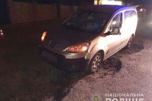 Під Рівним водій «Peugeot» збив жінку: потерпіла померла (Фото)