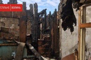 11 сімей, постраждалих від пожежі в Рожищі, просять допомоги (Відео)