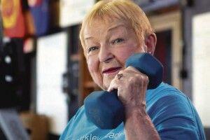 100-річна прапрабабуся стала найсильнішою довгожителькою світу