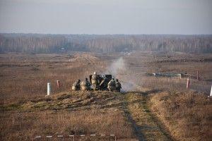 Бійці 14-тої ОМБр відточують свої навички на полігоні