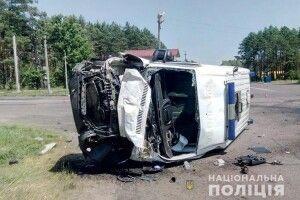 У жахливій автотрощі загинули пацієнт «швидкої» та його дочка