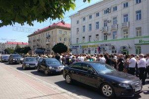 Лучани попрощалися із загиблими у війні на Донбасі волинянами