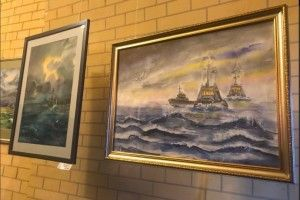 Відкрили благодійну виставку картин на підтримку полонених моряків