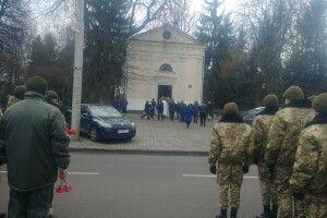 У Луцьку вшанували пам'ять воїна Бориса Шпачука, який помер на передовій