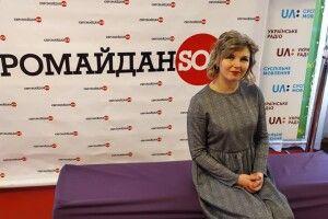 Волонтерку із Ківерець відзначили почесною нагородою
