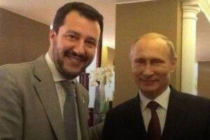 Віце-прем'єр Італії назвав Путіна «великим президентом»