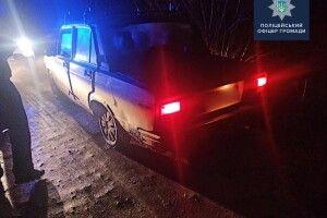 У селі на Волині під час поліцейського рейду водій запропонував 300 гривень хабаря (Фото)