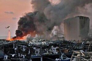 Жахливий вибух у Бейруті: аміачна селітра належала росіянам