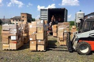 До Луцька прибув благодійний вантаж від фонду «Серце в долонях»