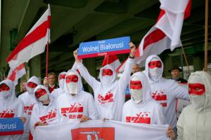 У Варшаві відкрили кругове перехрестя на честь Вільної Білорусі