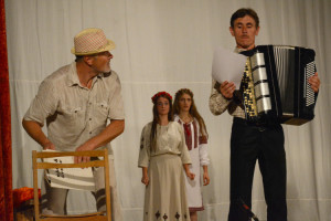 На Волині обікрали сільський театр, де свої вистави ставить знаменитий Петро Панчук