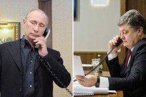 Порошенко зателефонував Путіну