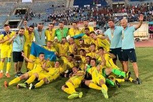 Українські футболісти – ще й чемпіони Європи (Відео)