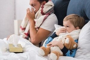 Застуда вклала в ліжко? Ні, інфекція