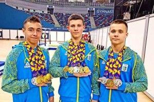 Україна завоювала рекордну кількість медалей на Європейському олімпійському фестивалі