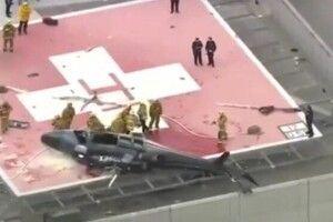 Вертоліт з донорським серцем впав на лікарню: орган двічі могли знищити (Відео)