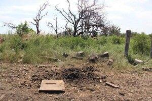 На Донбасі тракторист наїхав на протитанкову міну