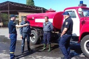 У Луцькому районі відбувся огляд-конкурс підрозділів місцевої пожежної охорони
