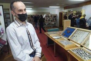 Волинський колекціонер привіз до Луцька своїх метеликів і павуків (Фото)