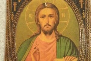 На Волині «виорали»... ікону Спасителя