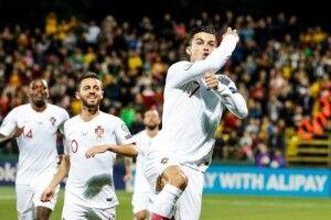 Кріштіану Роналду забив 4 голи у ворота Литви (Відео)