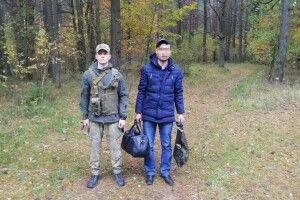 Волинські прикордонники затримали таджика, який через ліс пробирався до Польщі