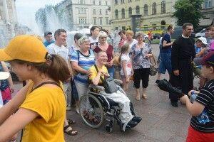 Ковельчан з інвалідністю гостинно приймав Львів (Фото)