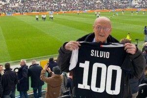Вболівальник «Ювентуса» Сільвіо Фассон відвідав матч улюбленої команди у день свого 100-річчя
