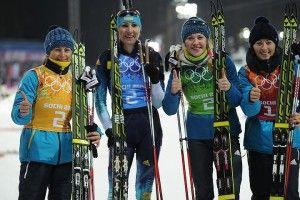 Рівно п'ять років тому українські біатлоністки вибороли драматичне «золото» жіночої естафети на зимовій Олімпіаді в Сочі (відео)