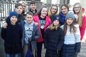 Діти загиблих волинських атовців побували в Генштабі