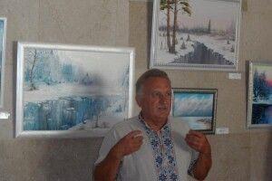 Ексчиновник пише картини і запрошує ківерчан у подорож Україною