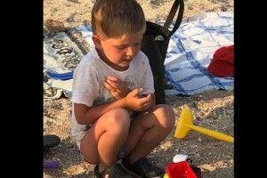 У Запорізькій області батько забув на пляжі чотирирічного сина