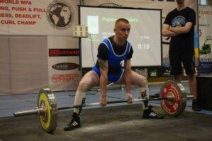 Луцький гвардієць Валерій Попович - чемпіон світу з пауерліфтингу