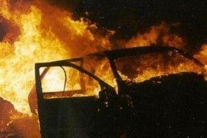 У місті на Волині спалахнув «Москвич»
