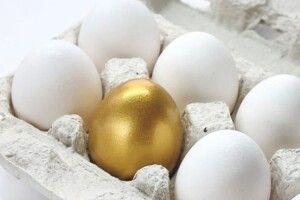 Яйця нині стали «золотими»:  40 гривень за десяток