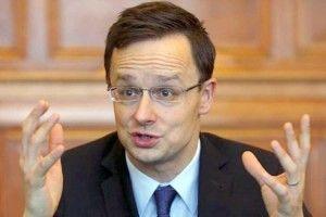 Угорщина знову вістериці через Україну