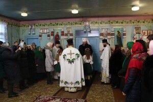 На Степана митрополит Михаїл поїхав у гості до протоієрея Степана (фото)