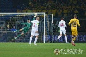Харківський «Роберто Карлос» посунув «Волинь» на 3-тє місце