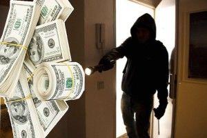 Долари, які вкрали вполіції,– невід бурштину, аз… Чехії?