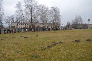 На Ковельщині школярі «живим ланцюгом» відзначили День соборності