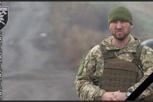 У військовому шпиталі Харкова помер командир 128 бригади Євген Коростельов