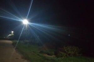У Губині встановили нове вуличне освітлення