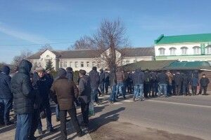 Вугільники перекрили дорогу на в'їзд у Нововолинськ. Шахтний колапс?