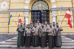 Військові капелани Волині взяли участь у марші захисників України (Відео)