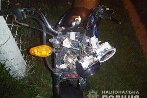 На Рівненщині мотоцикліст «відправив» пішохода у реанімацію