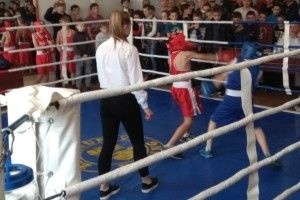 За титул чемпіона Здолбунівщини змагалися юні боксери із різних областей