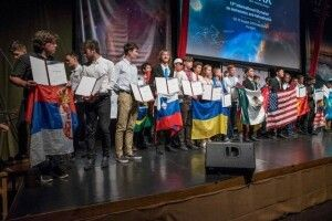 Лучанин Андрій Обертас успішно представив Україну на міжнародній олімпіаді з астрономії та астрофізики (Фото)
