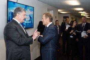 Європейські лідери підтвердили, що двері Євросоюзу відкриті для України, – Петро Порошенко